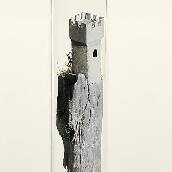 Die schwebende Burg im Reagenzglas